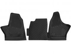 Коврики в салон для ГАЗ Next '13- полиуретановые, черные (Novline / Element)