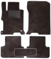 Коврики в салон для Honda Accord 9 '13-17 купе, текстильные, серые (Optimal)