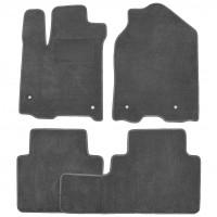 Коврики в салон для Acura RDX '14-18, текстильные, серые (Optimal)