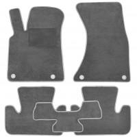 Textile-Pro Коврики в салон для Audi Q5 '08-17, текстильные, серые (Optimal)