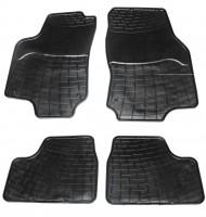 Коврики в салон для Opel Astra G '98-03 резиновые, черные (ZPV)