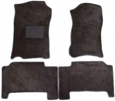 Коврики в салон для Cadillac Escalade III '07-13, текстильные, серые (Optimal)
