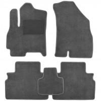 Коврики в салон для Chery Tiggo 4 '17-, текстильные, серые (Optimal)