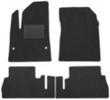 Textile-Pro Килимки в салон для Citroen Berlingo '19-, з підлокітником, текстильні, сірі (Optimal)