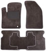 Коврики в салон для Dodge Avenger '07-13, текстильные, серые (Optimal)
