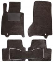 Коврики в салон для Infiniti G35 Sedan '07-10, текстильные, серые (Optimal)