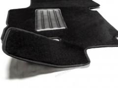 Фото 2 - Коврики в салон для Fiat Ducato '06- текстильные, черные (Люкс)