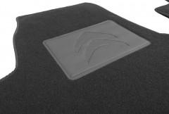 Фото 3 - Коврики в салон для Citroen Jumpy '96-07 текстильные, черные (Люкс)