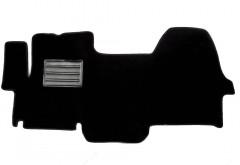 Коврики в салон для Fiat Scudo '07-16 текстильные, черные (Люкс)