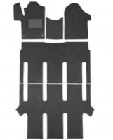 Textile-Pro Килимки в салон для Mercedes V-Class W447 '14- 7 місць, текстильні, сірі (Optimal)