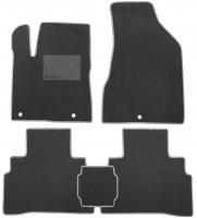 Коврики в салон для Nissan Murano '15-, текстильные, серые (Optimal)