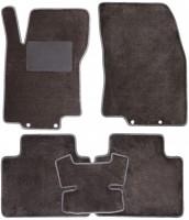 Коврики в салон для Nissan X-Trail (T32) '14-, текстильные, серые (Optimal)