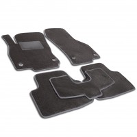 Textile-Pro Коврики в салон для Opel Cascada '13-, текстильные, серые (Optimal)