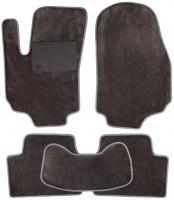 Коврики в салон для Opel Zafira B '05-13, текстильные, серые (Optimal)