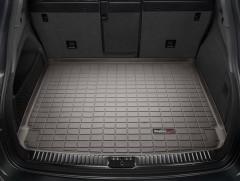 Коврик в багажник для Porsche Cayenne '10-17 (без сабвуфера), резиновый, коричневый (WeatherTech)