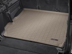 Коврик в багажник для Land Rover Discovery 3 '04-09, резиновый, бежевый (WeatherTech)