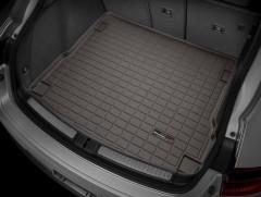 Коврик в багажник для Porsche Macan '14-, резиновый (WeatherTech) коричневый