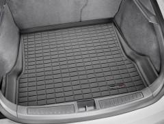 Коврик в багажник для Tesla Model S '16-18, задний, резиновый (WeatherTech) черный