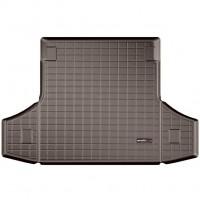 Коврик в багажник для Porsche Panamera '10-16, резиновый, коричневый (WeatherTech)