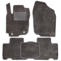 Коврики в салон для Toyota RAV4 '13-18, текстильные, серые (Optimal)