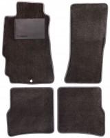 Коврики в салон для Mazda RX-8 '03-08, текстильные, серые (Optimal)