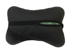 Фото 3 - Подушка на подголовник в автомобиль черная