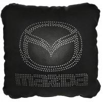 Фото 1 - Подушка перфорированная Mazda черная