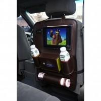 Фото 4 - Органайзер на спинку сиденья автомобиля, коричневый
