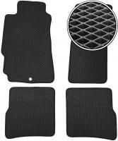 Коврики в салон для Mazda RX-8 '03-08, EVA-полимерные, черные (Kinetic)