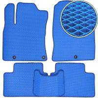 Коврики в салон для Kia Ceed '19-, EVA-полимерные, синие (Kinetic)
