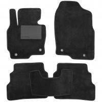 Коврики в салон для Mazda CX-5 '12-17 USA, текстильные, черные (Optimal)