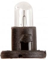 Автомобильная лампочка Ring 12V 1,2W T-1/4NW (Black Base) 1 шт.