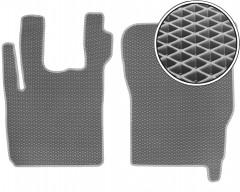 Коврики в салон для DAF CF, EVA-полимерные, серые (Kinetic)
