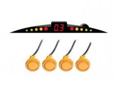 Парктроник AutoKit PS-037 LED-4 (желтый)