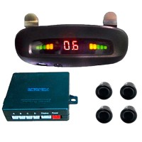 Парктроник AutoKit PS-037R-4 (черный)