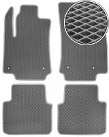 Коврики в салон для Citroen C3 Aircross '17-, EVA-полимерные, серые (Kinetic)