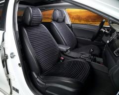 Накидки на передние сидения CarFashion Monaco черные