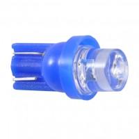Автомобильная лампочка Solar LED W5W 12V синяя