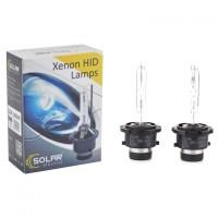 Лампы ксеноновые Solar D2R 5000K 35 W 85 V (2 шт.)