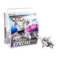 Фото 1 - Автомобильные лампочки H4/P43T 12V 60/55W +50% X-treme Vision (2 шт.)