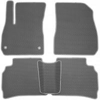 Фото 2 - Коврики в салон для Chevrolet Malibu '16-, EVA-полимерные, серые (Kinetic)