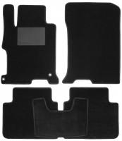 Коврики в салон для Honda Accord 9 '13-17, текстильные, черные (Optimal)