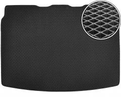 Коврик в багажник для Fiat Fiorino '08-, EVA-полимерный, черный (Kinetic)