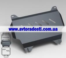 Защита картера двигателя для Toyota LC 200 Prado '10- (3мм) 4,7 бензин/4,5 дизель АКПП