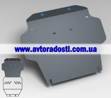 Защита картера двигателя для Toyota LC 200 Prado '08-10 (3 мм) 4,7 АКПП