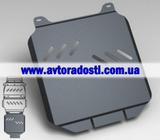 Защита коробки переключения передач для Toyota LC 200 Prado '10- (3мм) 4,7 бензин/4,5 дизель АКПП