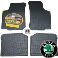 Ковры резиновые для Skoda Octavia 97>  ZPV  grey