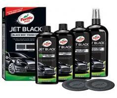 Фото 2 - Полироль Turtle Wax Jet Black - набор для черных автомобилей