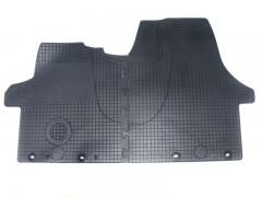 Коврики в салон для Volkswagen Transporter T5 '03- резиновые, черные (Doma) передние
