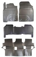 Коврики в салон для Toyota Land Cruiser 200 '12- полиуретановые (Novline / Element)